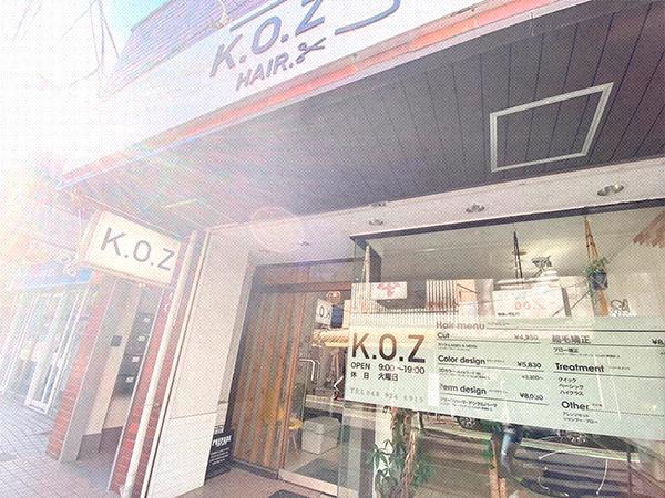谷塚の美容室 KOZ